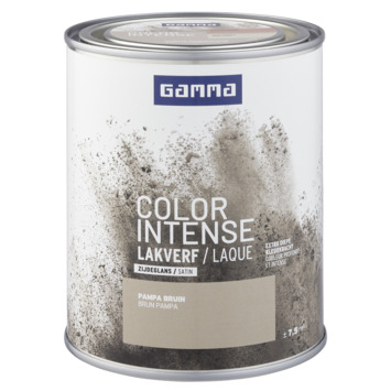 GAMMA color intense binnenlak zijdeglans 750 ml pampa bruin