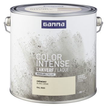 GAMMA color intense binnenlak hoogglans 2,5 L RAL 9001
