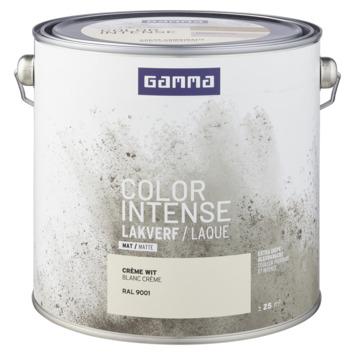 GAMMA color intense binnenlak mat 2,5 L RAL 9001