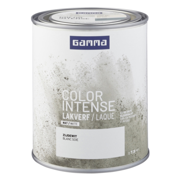 GAMMA color intense binnenlak mat 750 ml zijde wit