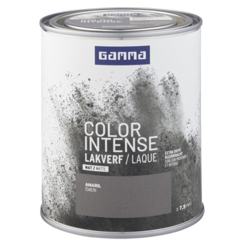 GAMMA color intense binnenlak mat 750 ml amaril