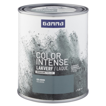 GAMMA color intense binnenlak hoogglans 750 ml celadon