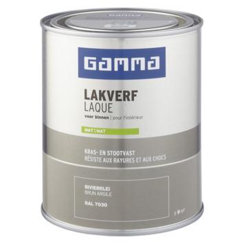 GAMMA laque intérieure mate 750 ml brun argile