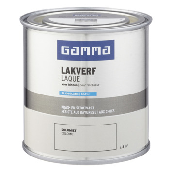 GAMMA binnenlak zijdeglans 250 ml dolomiet