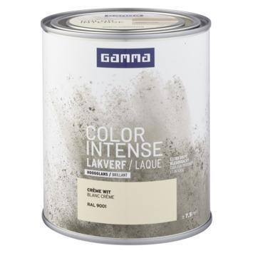 GAMMA color intense binnenlak hoogglans 750 ml RAL 9001