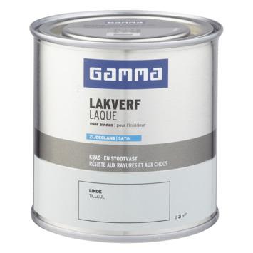 GAMMA binnenlak zijdeglans 250 ml linde