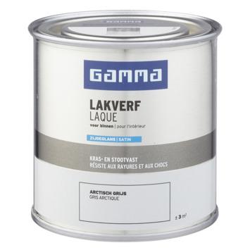 GAMMA binnenlak zijdeglans 250 ml arctisch grijs