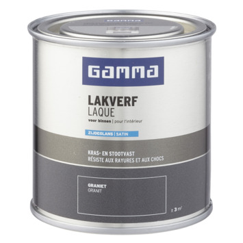 GAMMA binnenlak zijdeglans 250 ml graniet