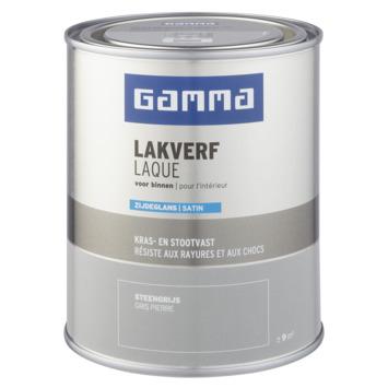 GAMMA laque intérieure satin 750 ml gris pierre