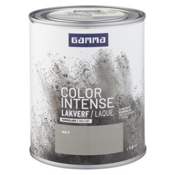 GAMMA color intense binnenlak hoogglans 750 ml malt