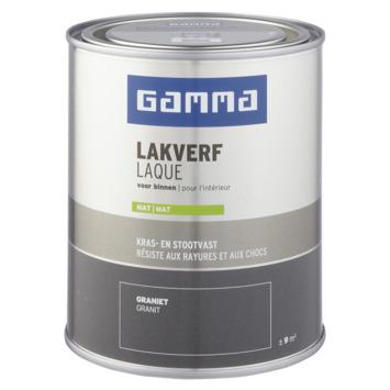 GAMMA binnenlak mat 750 ml graniet