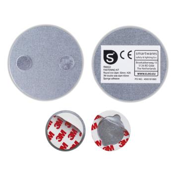 Smartwares Magnetische Montageset RMAG3 voor Bevestiging Rookmelder