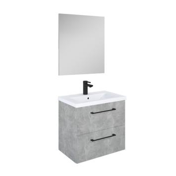 Meuble de salle de bains Sienna Atlantic 60 cm béton