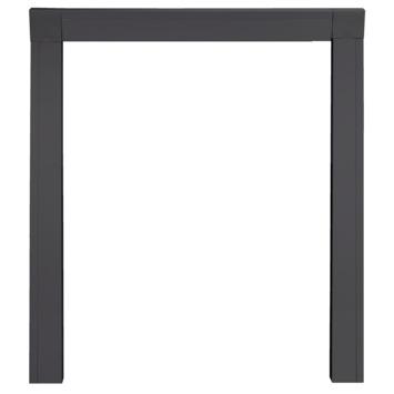 Inbouwkader voor hordeuren antraciet 108x239 cm