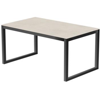 Keramische tafel 240x100 cm antraciet/Uptown light