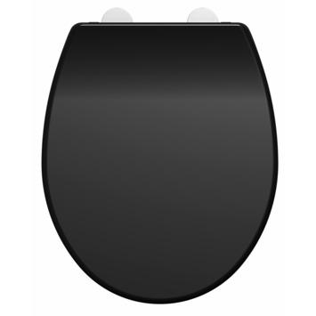 Allibert wc-bril Dolceo zwart mat