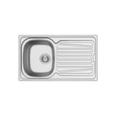 Evier à encastrer  Isifix Hypero 860 x 500 mm 1 bac