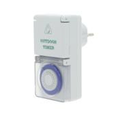 Profile mechanische tijdschakelklok mini IP44 spatwaterdicht 3500W