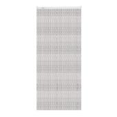 Livin' outdoor rideau de porte Cord noir/gris 230x100cm