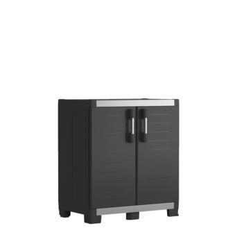Lage opbergkast XL garage Keter zwart 89x54x99cm