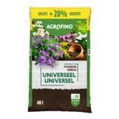 Agrofino potgrond universeel 40 L + 20% gratis