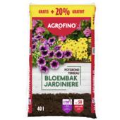 Terreau pour jardinières 40 L + 20% gratuit