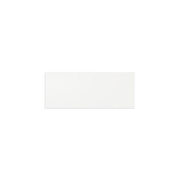 Wandtegel White Glossy 20x50cm 1,28m² per doos