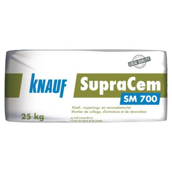 Knauf kleef-, wapenings- en renovatiemortel SM700 25 kg