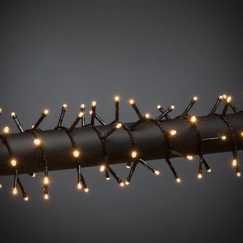 Konstsmide kerstverlichting 200 micro LED clustersnoer extra warm wit voor binnen
