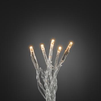Konstsmide kerstverlichting 50 micro LED extra warm wit voor binnen