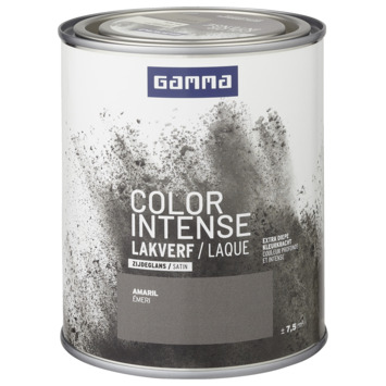 GAMMA color intense binnenlak zijdeglans 750 ml amaril