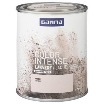 GAMMA color intense binnenlak zijdeglans 750 ml pioen