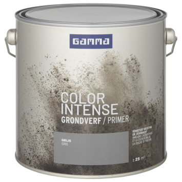 GAMMA color intense lak primer 2,5 L grijs