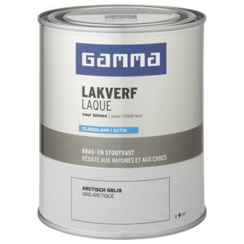GAMMA binnenlak zijdeglans 750 ml arctisch grijs