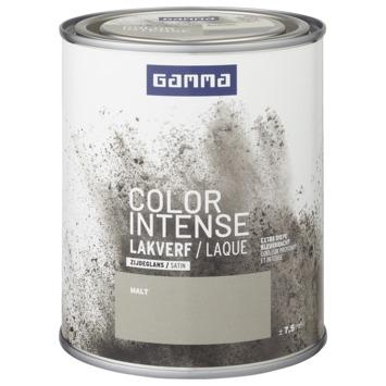GAMMA color intense binnenlak zijdeglans 750 ml malt