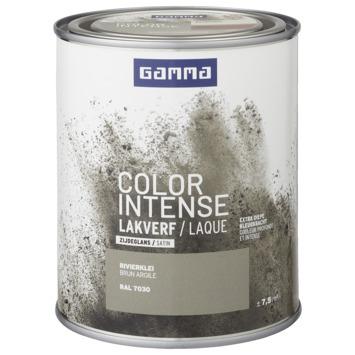 GAMMA color intense binnenlak zijdeglans 750 ml rivier klei