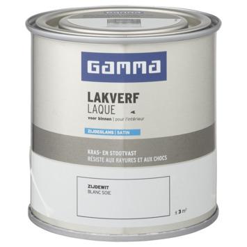 GAMMA binnenlak zijdeglans 250 ml zijdewit