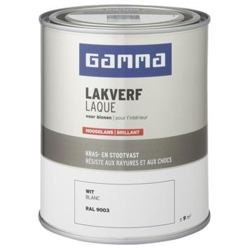GAMMA laque intérieure haute brillance 750 ml blanc