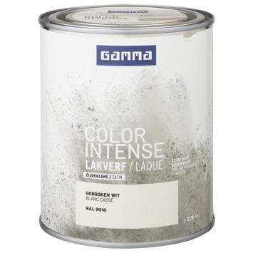 GAMMA color intense binnenlak zijdeglans 750 ml gebroken wit