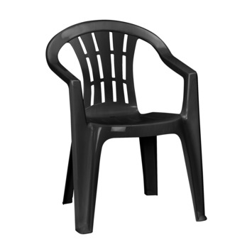 Jardin chaise Cuba graphite