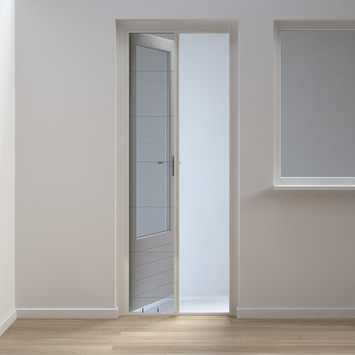 Plissehordeur comfort wit 150x240 cm