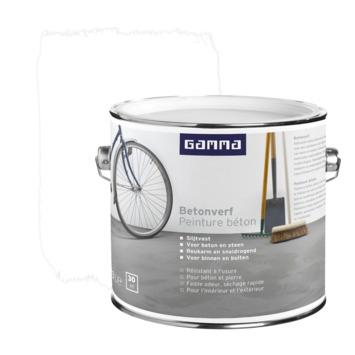 GAMMA Betonverf mat 2,5 liter wit