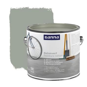 GAMMA Betonverf mat 2,5 liter grijs