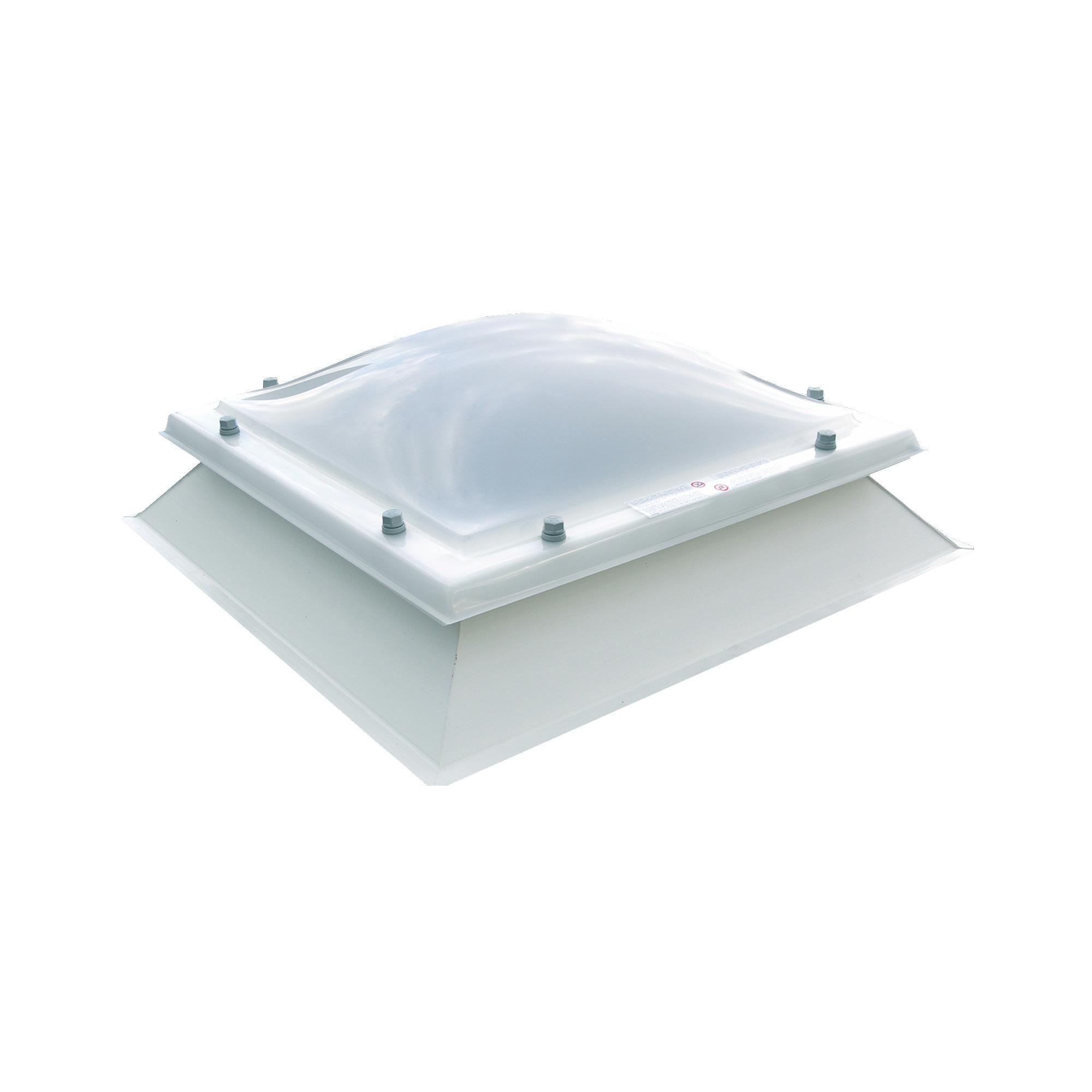 Coupole et embase 86x86 cm fen tres de toit de grenier for Gamma porte et fenetre