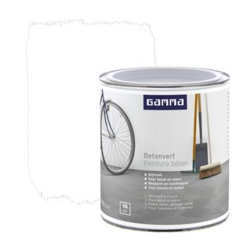 GAMMA Betonverf mat 750 ml wit
