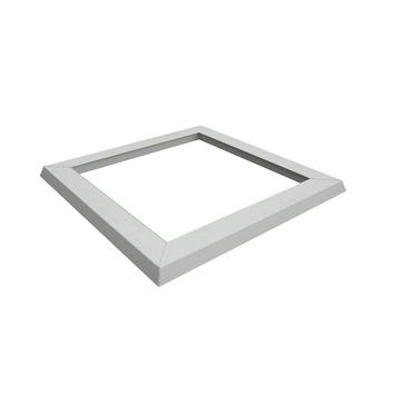 Ventilatiekader 116x116 cm wit