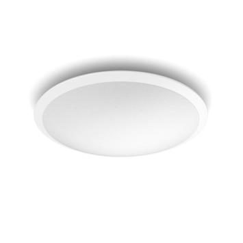 Plafonnier rond LED intégrée Canaval SceneSwitch Philips 1500 Lm 18 W blanc froid