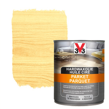 V33 parketolie hardwax mat kleurloos 1 L