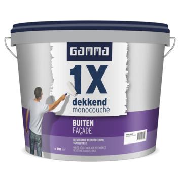 GAMMA 1x Dekkend buiten (façade) mat 10 L RAL9010
