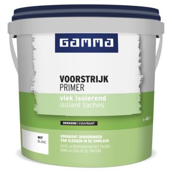 Primer isolant taches GAMMA 5 L blanc